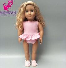 18 inch girl Doll swim clothes for 17 Baby summer bikini