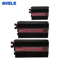 300w 500w 600W  Portable Car Power Inverter Converter DC 12v 24v 48v To Ac 110v 220v Solar Power Off Grid Modified Sine Wave 1000w pure sine wave inverter solar system 24v 220v car power inverter generator dc to ac converter off grid 12v 48v to 120 240v