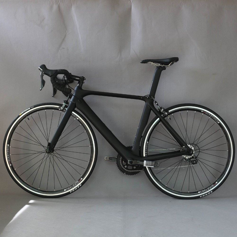 2019 Aero design complete bike FM268  Carbon Fiber 700c road  bicycle  20 Speed complete Bicicleta  adopted SHIMAO brake-4700