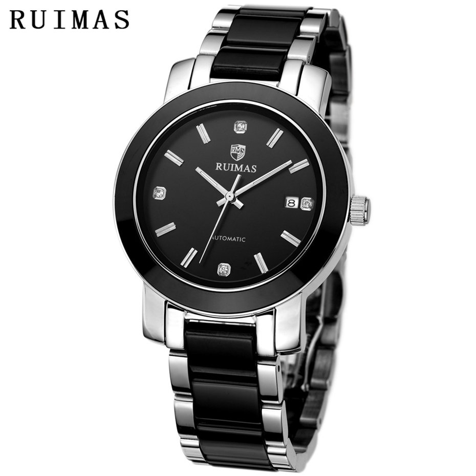Reloj Hombre 2018 Business Men Automatic Wrist watch Classic Luxury Watch Mechanical Watches Mens Hours RUIMAS Brand Male Clocks mce sports mens watches top brand luxury genuine leather automatic mechanical men watch classic male clocks high quality watch