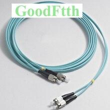 Cabos de remendo de fibra jumpers FC FC om3 duplex goodftth 1 15m 6 pçs/lote