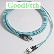 Fiber Patch Cord Jumper FC-FC Multimode OM3 50/125 Duplex GoodFtth 1-15m