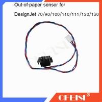 Sensor Original usado fuera de papel Q1292 60150 C7791 60229 Q1292 60282 para HP DesignJet 70/90/100/ 110/111/120/130 piezas de Plotter|plotter parts|designjet 120designjet 110 -