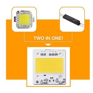 Image 4 - COB Chip LED 100W 50W 30W 20W 10W IC Thông Minh Không Cần Trình Điều Khiển LED SMD hạt Cho Pha Đèn Ngoài Trời Đèn