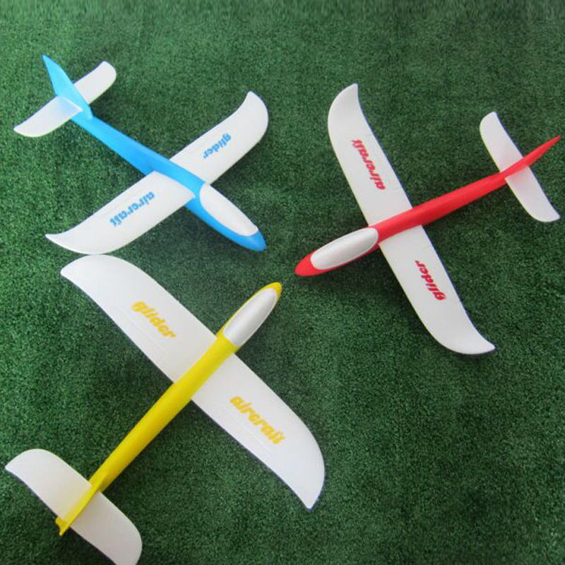 Outdoor Toys Funny Hand Throwing Glider Aircraft Foam Epp Airplane Plane Drone Model Brinquedos Kids Boy Playset In Diecasts Toy Vehicles From