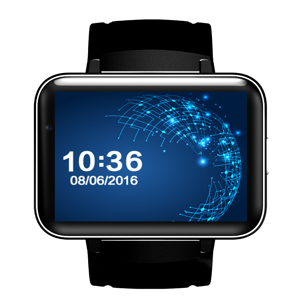 DM98 Bluetooth Smart Watch 2.2 inch Android 4.4 OS 3G Smartwatch Phone MTK6572 Dual Core 1.2GHz 4GB ROM Camera WCDMA GPS domino dm98 bluetooth smart watch 2 2 inch android 4 4 os 3g smartwatch phone mtk6572a dual core 1 2ghz 4gb rom camera wcdma gps