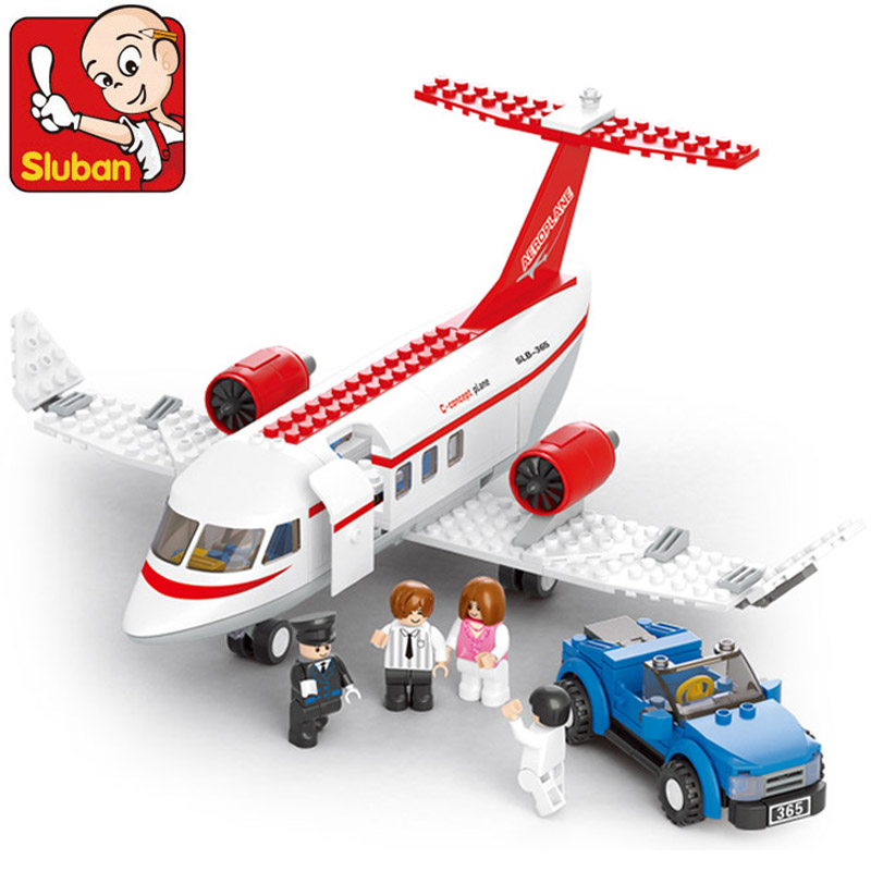 Sluban Building Blocks Compatible with Lego B0365 275P Models Building Kits Blocks Toys Hobbies For Chlidren