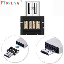 Adroit Mini USB 2.0 Micro USB OTG Converter Adapter Cellphone TO US DEC21