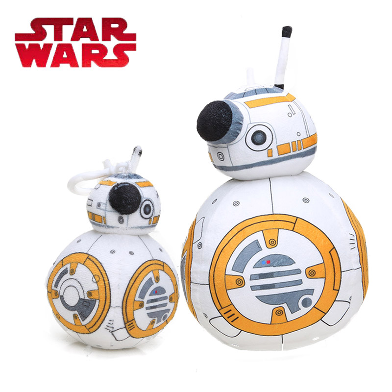 30 Cm Star Wars Speelgoed De Kracht Wekt Robot Bb8 Pluche Poppen Bb-8 Soft Gevulde Poppen Pluche Kussen Cosplay Prop Feestartikelen