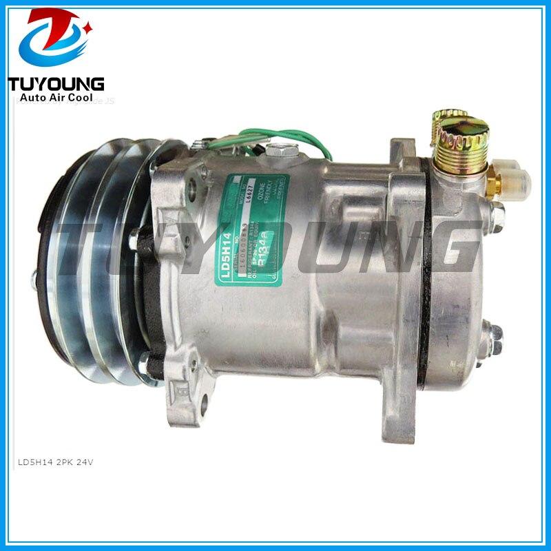 160600715 160600889 auto ac Compressor for  SD5H14 LD5H14 L6627160600715 160600889 auto ac Compressor for  SD5H14 LD5H14 L6627