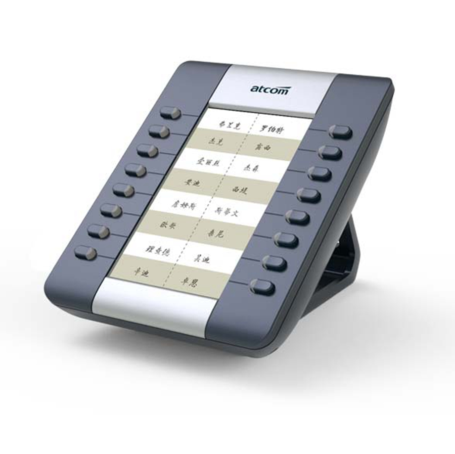 ФОТО ATCOM RE Extension modules with 16 programmable keys for A41W A41 Operator's SIP Phone