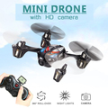 Mini Drones With Camera Hd Jjrc H6c micro Quadcopter Flying camera Helicopter 4ch Professional Drones Flying Toys