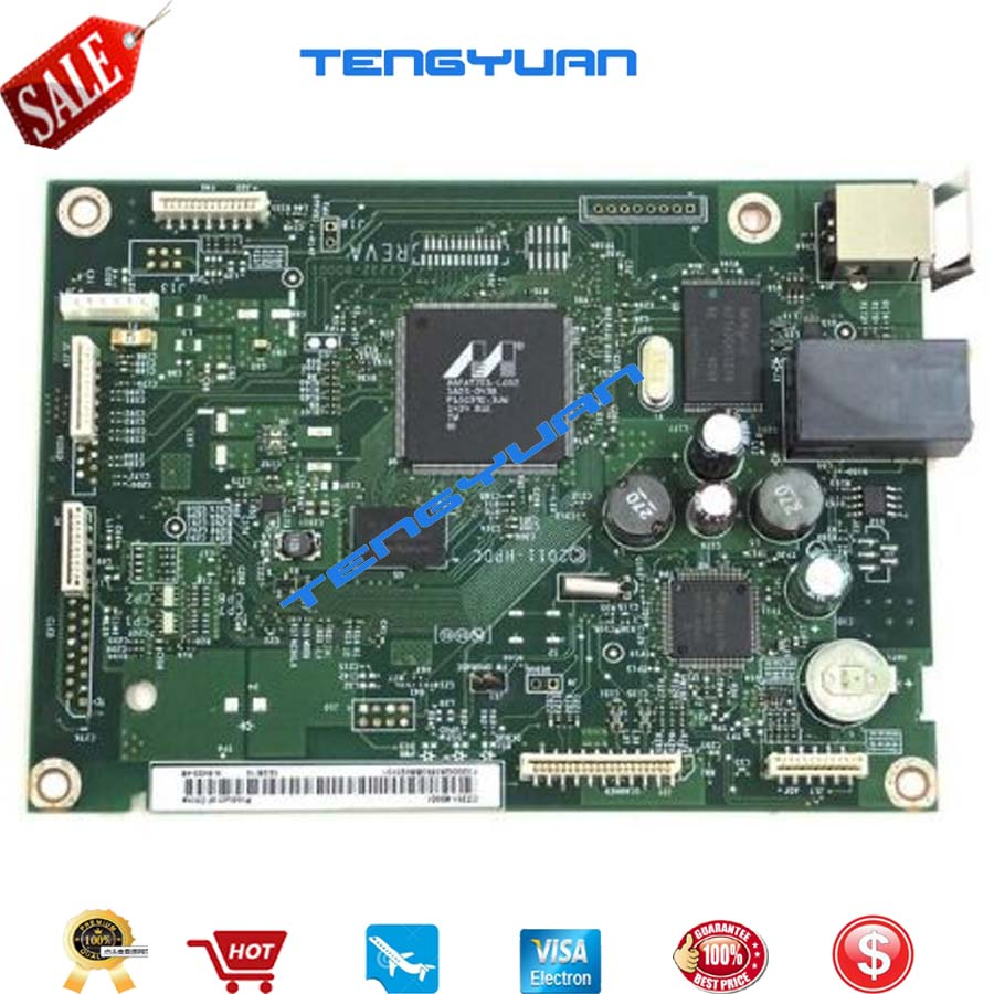 Free shipping 100% test Formatter Board CZ231-60001 For HP M225 M226 M225DN M226DN Formatter Board Mainboard 100% test formatter board cz232 60001 for hp m225dw m226dw m225 m226 225dw 226dw formatter board mainboard