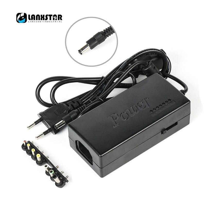Lanxstar 120W Adjustable Speed Power Adapter 12-24V Charger US / EU / AU / UK Plug AC / DC Powers Adapter 5V USB Port