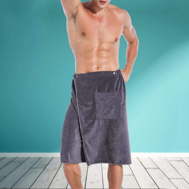 Fashion Man Wearable Microfiber Bath and Beach Towel 5