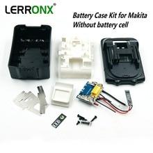 Ersatz batterie fall kit mit PCB circuit board led anzeige für Makita 18 v batterie BL1830 BL1840 BL1850 KEINE ZELLEN