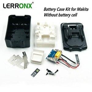 Image 1 - Kit com placa de circuito PCB LED indicador de substituição caso da bateria para Makita 18 v BL1830 BL1840 BL1850 SEM CÉLULAS de bateria