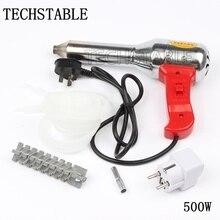 500 W antorcha de soldadura de plástico de aire caliente pistola de voltaje 220 v-240 v corriente 50-300L/Min de la temperatura 100-450 grados herramienta de Alta calidad