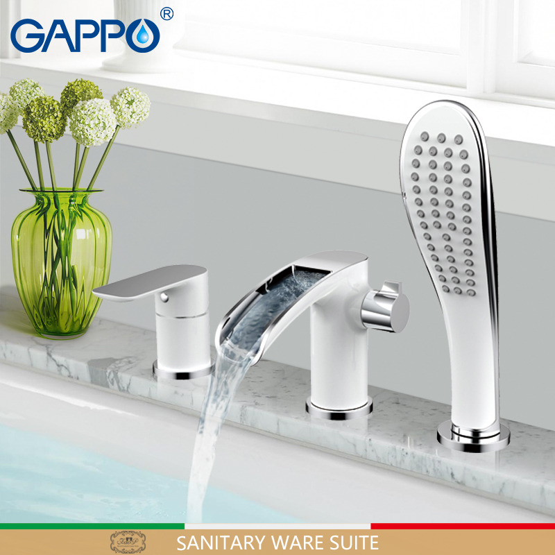 GAPPO bathtub faucet bathroom faucets deck mounted mixers waterfall faucet basin sink kitchen mixer tap faucets gappo kitchen faucets kitchen sink faucets water mixers faucets waterfall faucet kitchen sink mixer