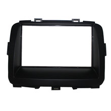 Free shipping--Car refitting DVD frame,DVD panel,Dash Kit,Fascia,Radio Frame for 2013 KIA Carens, 2DIN