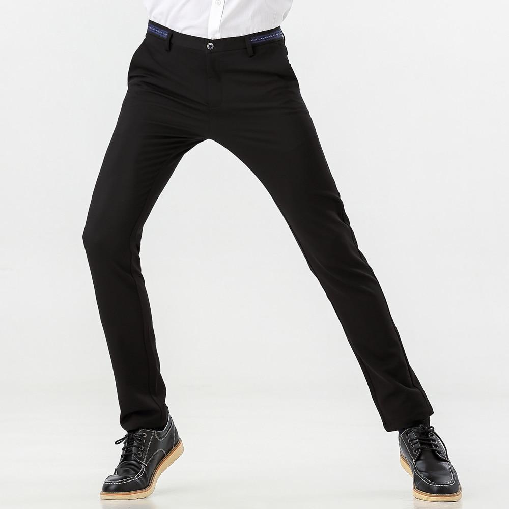 34d4eff6 Mens Slim Fit Dress Trousers | Saddha