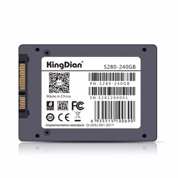 KingDian SSD SATA3 2.5 inch 60GB 120G 240GB 480G Free SATA Cable for every order