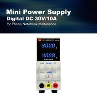 30V/10A Digital Mini DC Power Supply Current Volt Display Adjustable Switching for Mobile Phone PC Notebook Maintenance