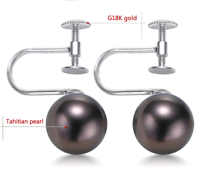 gold tahitian pearls earrings jewelry 22