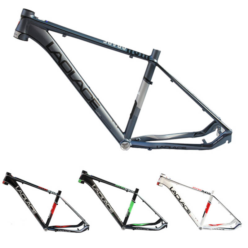 High Quality 26 Inch Mountain Bike Frame Four Colors Available Lightweight Aluminum Alloy Bicycle Frame Bicycle Parts 17 inch mtb bike raw frame 26 aluminium alloy mountain bike frame bike suspension frame bicycle frame