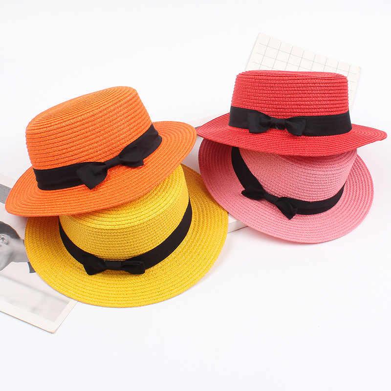 قبعة قش على الموضة المرأة الصيف شاطئ قبعات للحماية من الشمس واسعة حافة السيدات قمة صلب قبعة قناع شاطئ السفر في الهواء الطلق قبعات قبعات