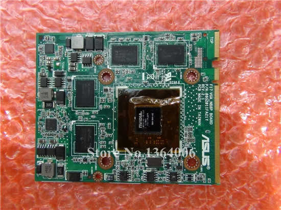 F17 VGA_NEPB BOARD P/N: 08G2011FA21Y REV 2.1 NVIDIA G84-600-A2 M8700 MXM DDR3 1G video card For ASUS G70 G70S