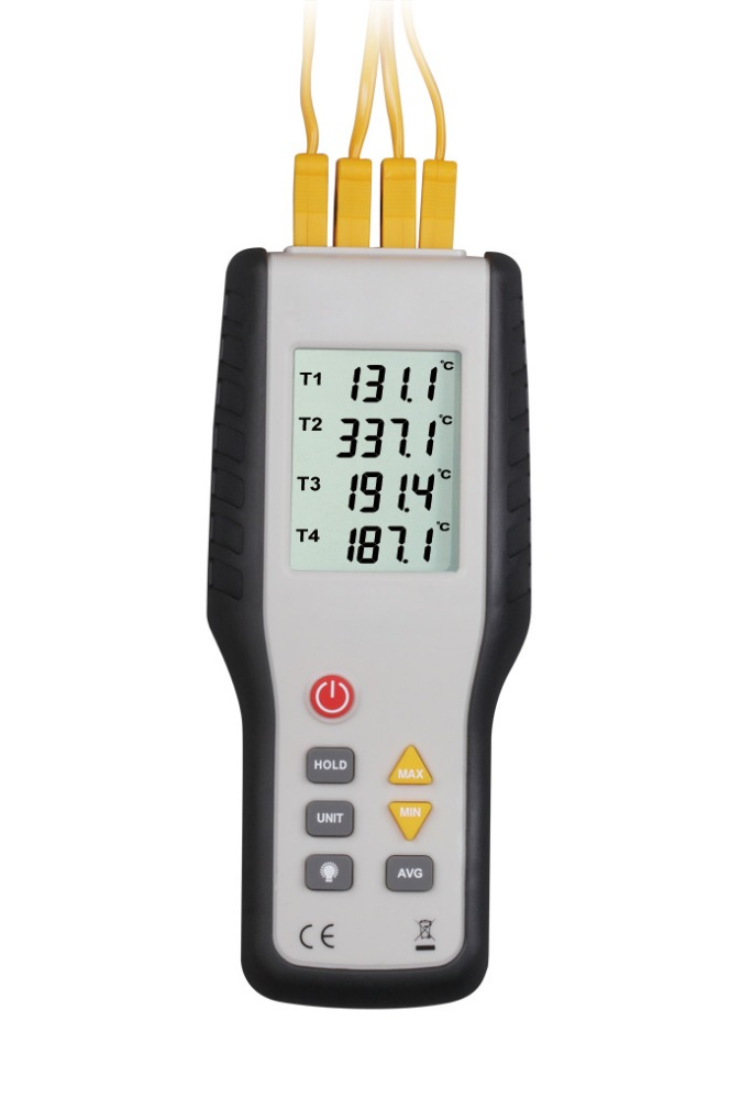 HT-9815 Digital K type Thermocouple Thermometer thermocouple probe sensor industrial temperature tester -200C-1372C Dual channel купить
