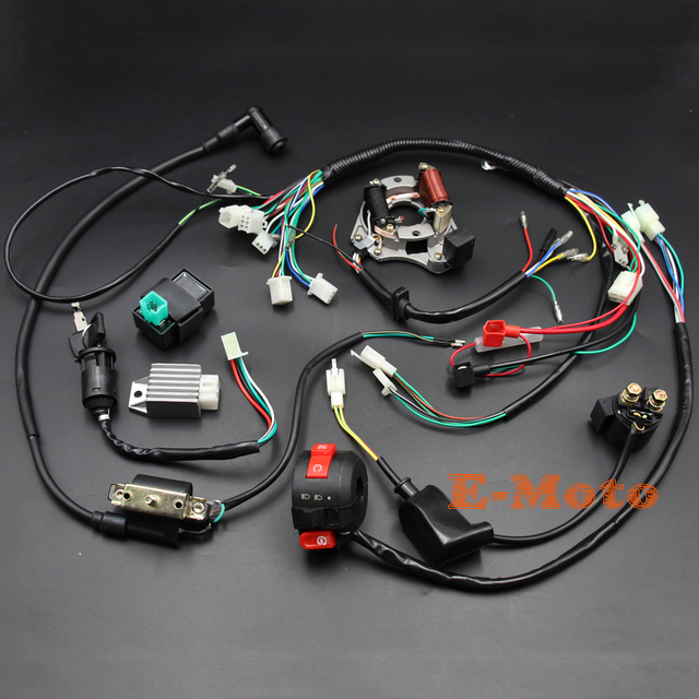 4 Wire Cdi Chinese Atv Wiring Diagrams 110cc. . Wiring Diagram  Wire Cdi Chinese Atv Wiring Diagrams on