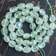 6-9mm Natural Green Garnet Irregular beads 15