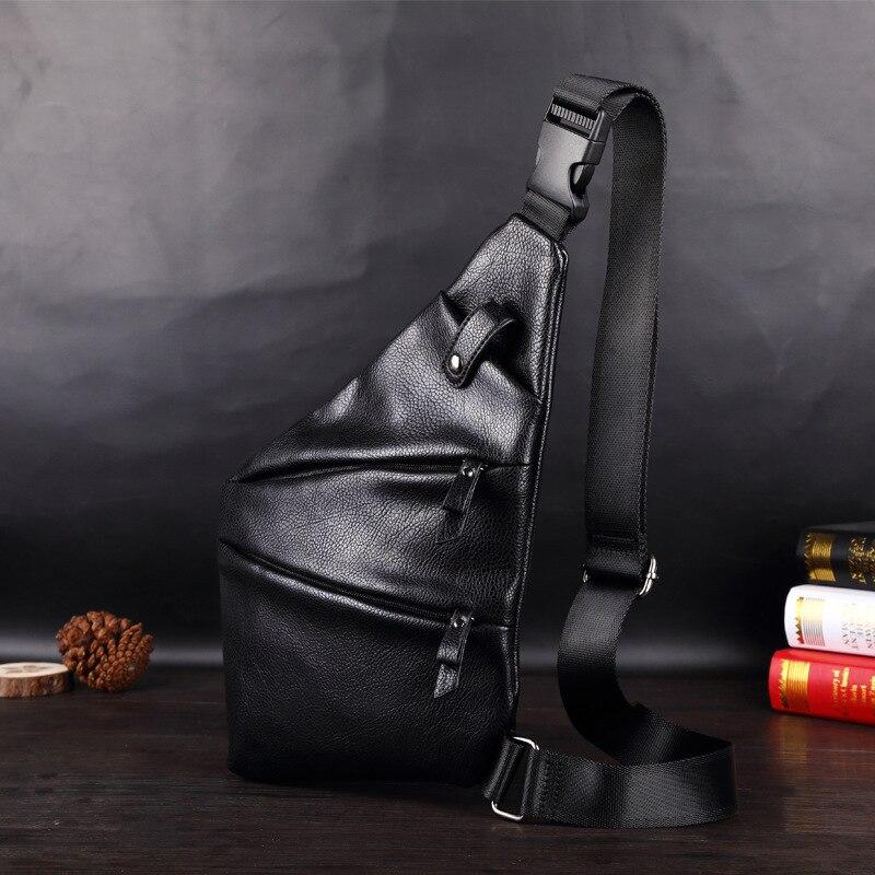 Qualità A Black blue Uomini Di Unisex Anti Bag Sling Moda Con gray Borse Furto Petto Confezioni Elaborazione Tracolla Borsa Tela Cuoio Dell'unità Alta Casual Degli Spalla nSqSURg