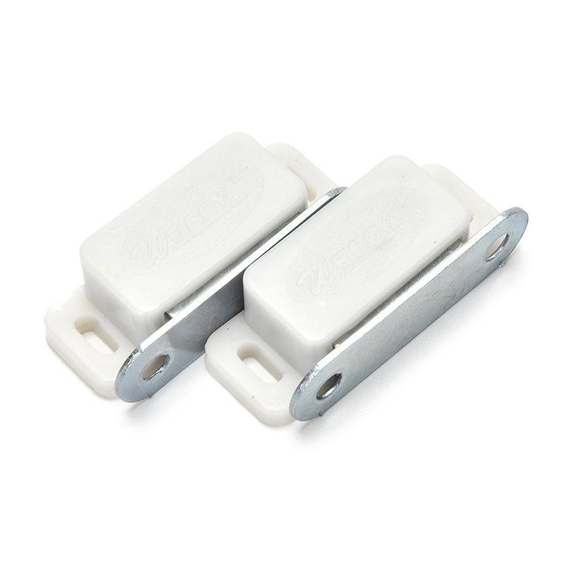 2pcs Magnetic Cabinet Latch Catch Small Door Catches Kitchen