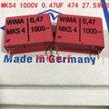 2019 Лидер продаж 10 шт/20 шт немецкий конденсатор WIMA MKS4 1000V 0 47 мкФ 474 1000V 470n P: 27 5 мм аудио конденсатор Бесплатная доставка