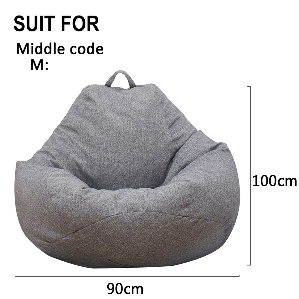 Peachy Large Bean Bag Chairs Sofa Cover Without Filler Indoor Pabps2019 Chair Design Images Pabps2019Com