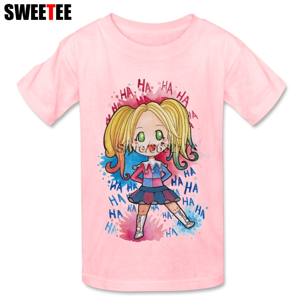 Suicide Squad T Shirt Kid Cotton Toddler O Neck Baby Tshirt childrens Infant Teeshirt 2018 Harley Quinn T-shirt For Boy Girl