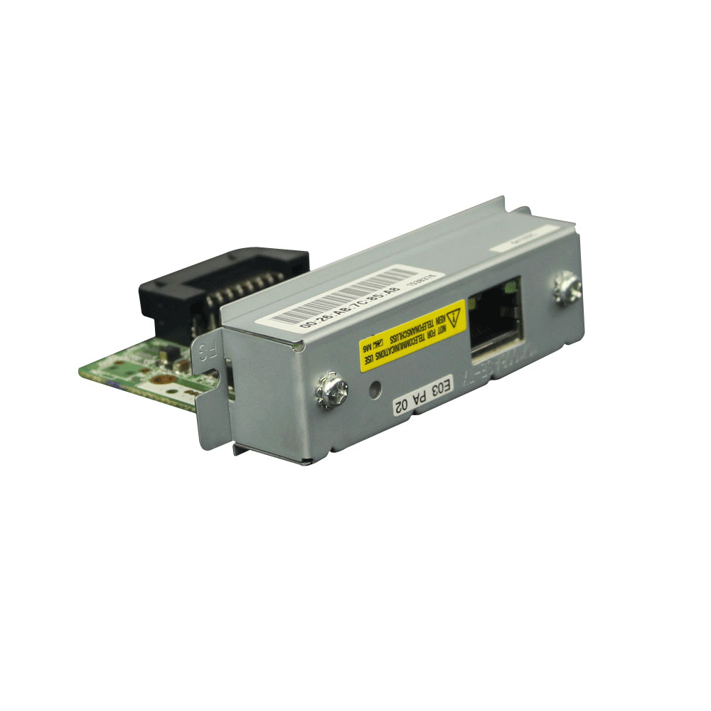 ФОТО New UB-E03 Ethernet interface Card For Epson TU220B 88IV 88V T81 T82