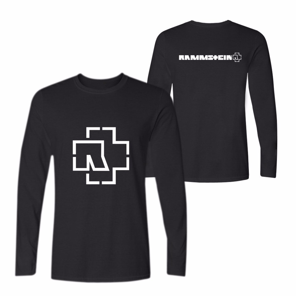 LUCKYFRIDAYF Rammstein Long Sleeve T font b Shirt b font For font b Men b font