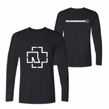 LUCKYFRIDAYF Rammstein Long Sleeve T Shirt For Men Women Autumnr Plus Size 4XL Hip Hop T-Shirt Top Tees Teeshirt Cool Clothes