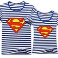 Lovers short-sleeve 2014 plus size lovers T-shirt slim short-sleeve class service super man