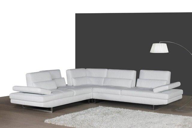 real leather sofa sectional living room sofa corner home furniture ...