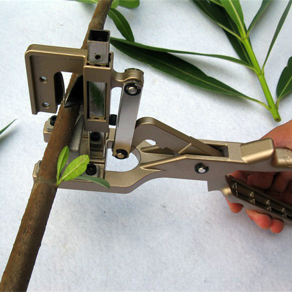 Garden Fruit Tree Grafting Tool Machine Pruning Shears Scissor Professional Fruit Tree Vegetable Flower Grafting Cutting Tool studies on grafting in some vegetable crops