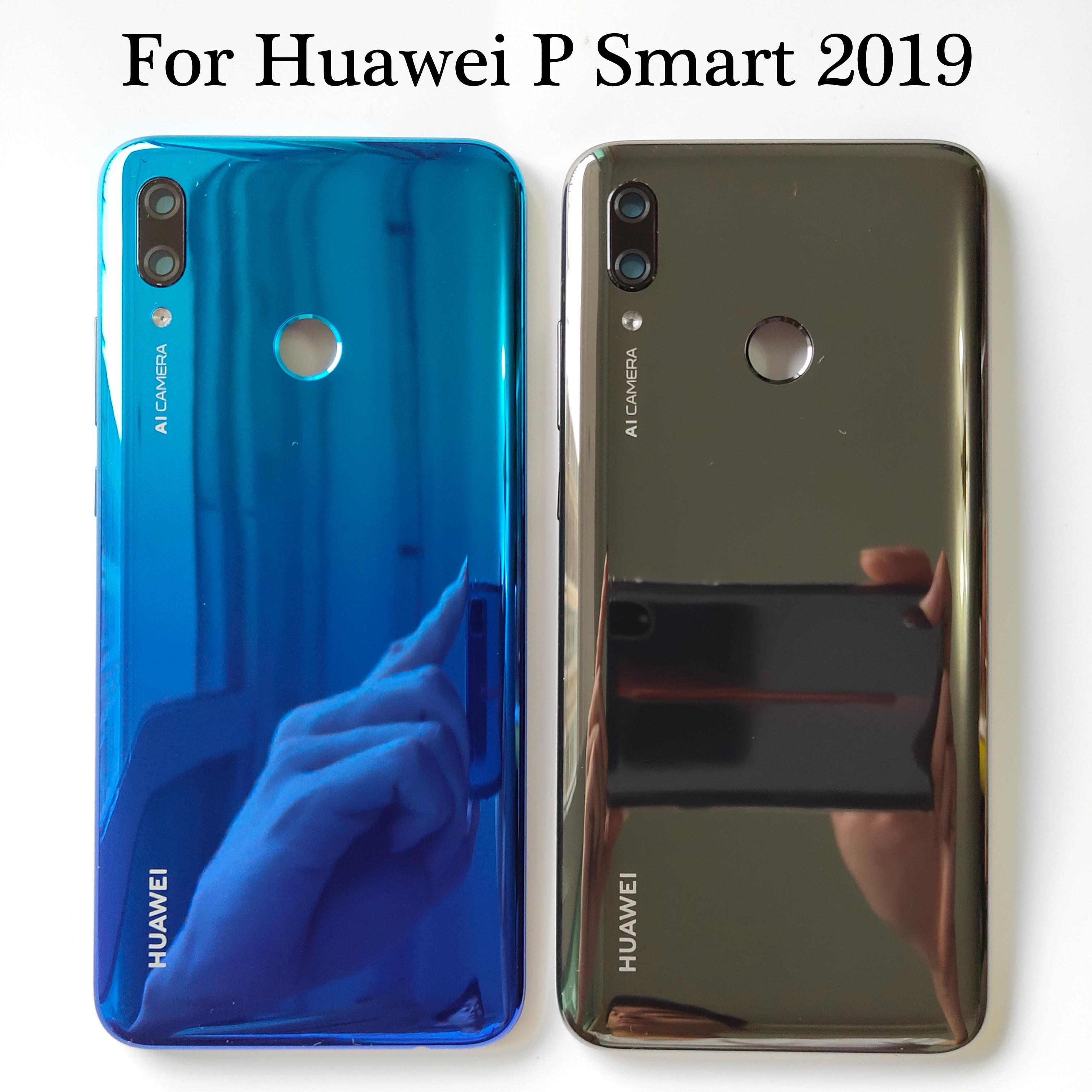 Cover Back-Battery Huawei P Smart Door-Housing-Case Glass-Parts for Rear POT-LX3 Original