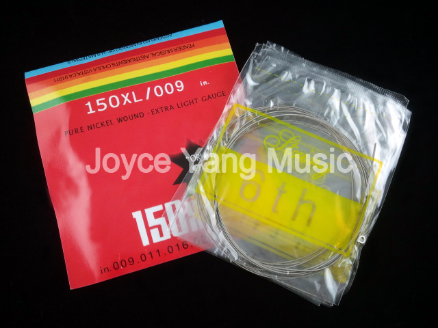 New 150XL Electric Guitar Strings Stainless Steel Nickel Alloy Wound 1st-6th Strings 009-046 Free Shipping