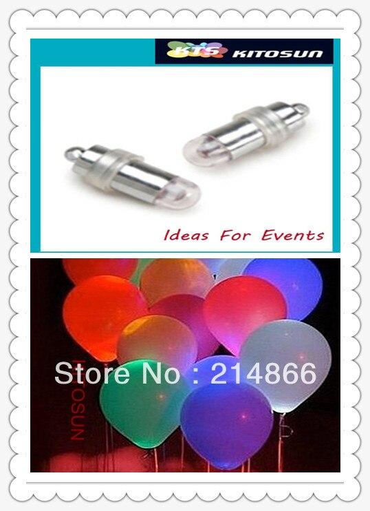 Decoration Design(50 pieces/lot) Batteries Mini Led Balloon Wedding Decoration Led Light Bulb Party Vase Glass Lights