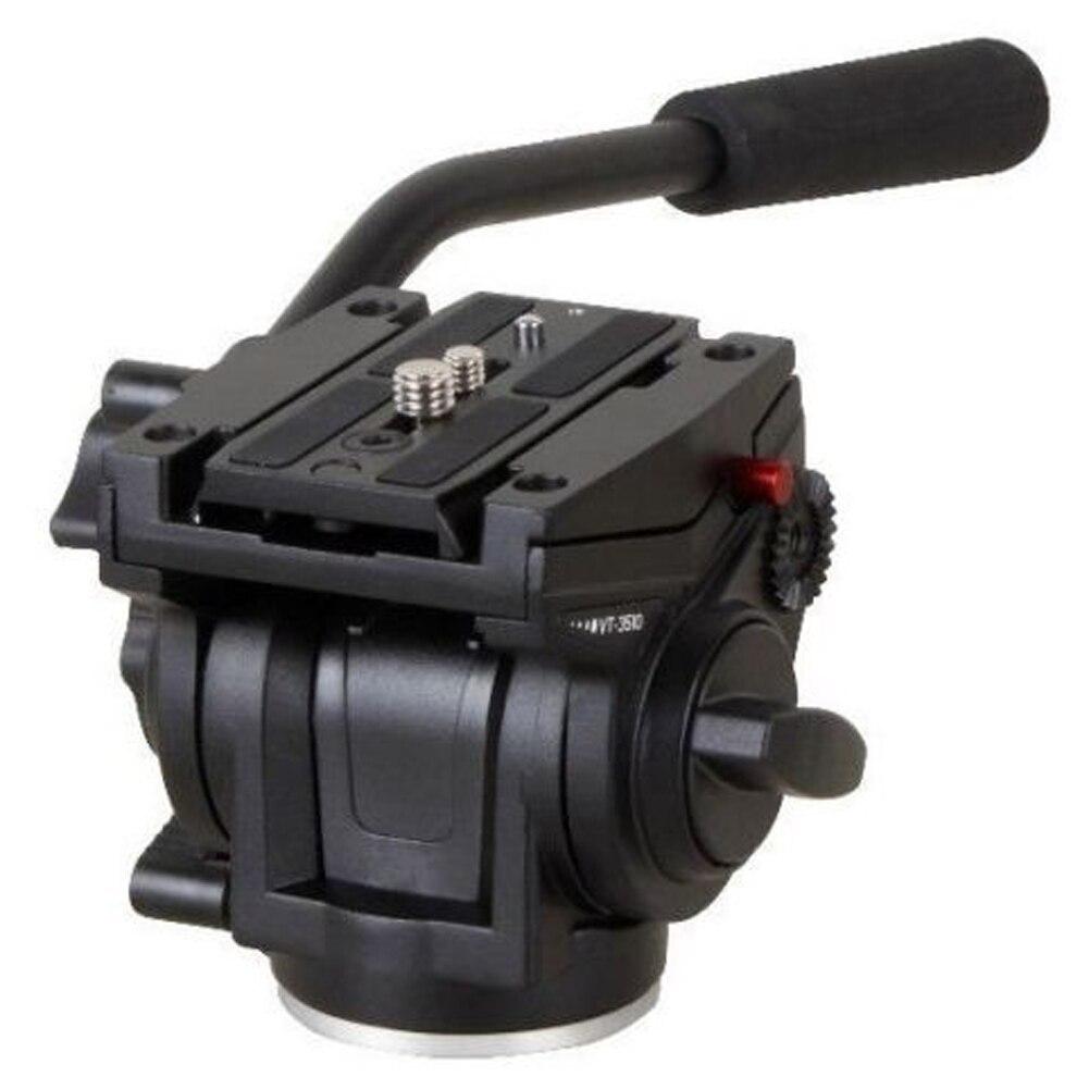 Professional Fluid Video Lightweight Tripod Head 701HDV W/ 501PL QR Plate Mini DV Professional Head for Manfrotto laser head hdv 1800