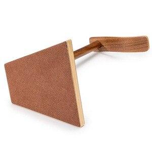 Image 4 - JINSERTA przenośne słuchawki stojak drewniany praktyczny uchwyt słuchawkowy zestaw słuchawkowy pokaż półka aluminiowy kątownik urządzenie pomocnicze